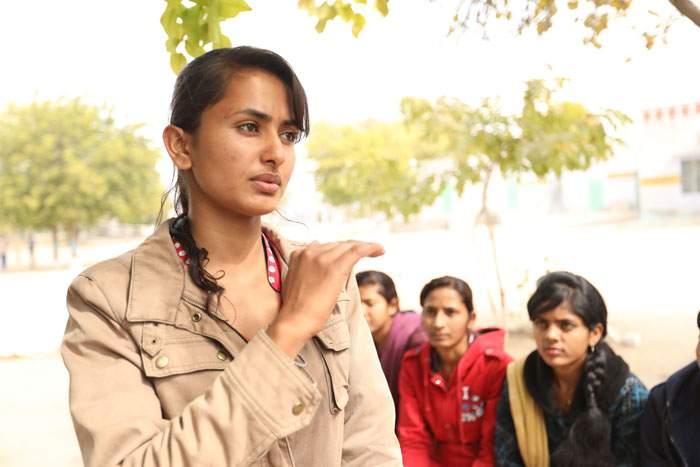 Radika Swami refused to marry in her teens