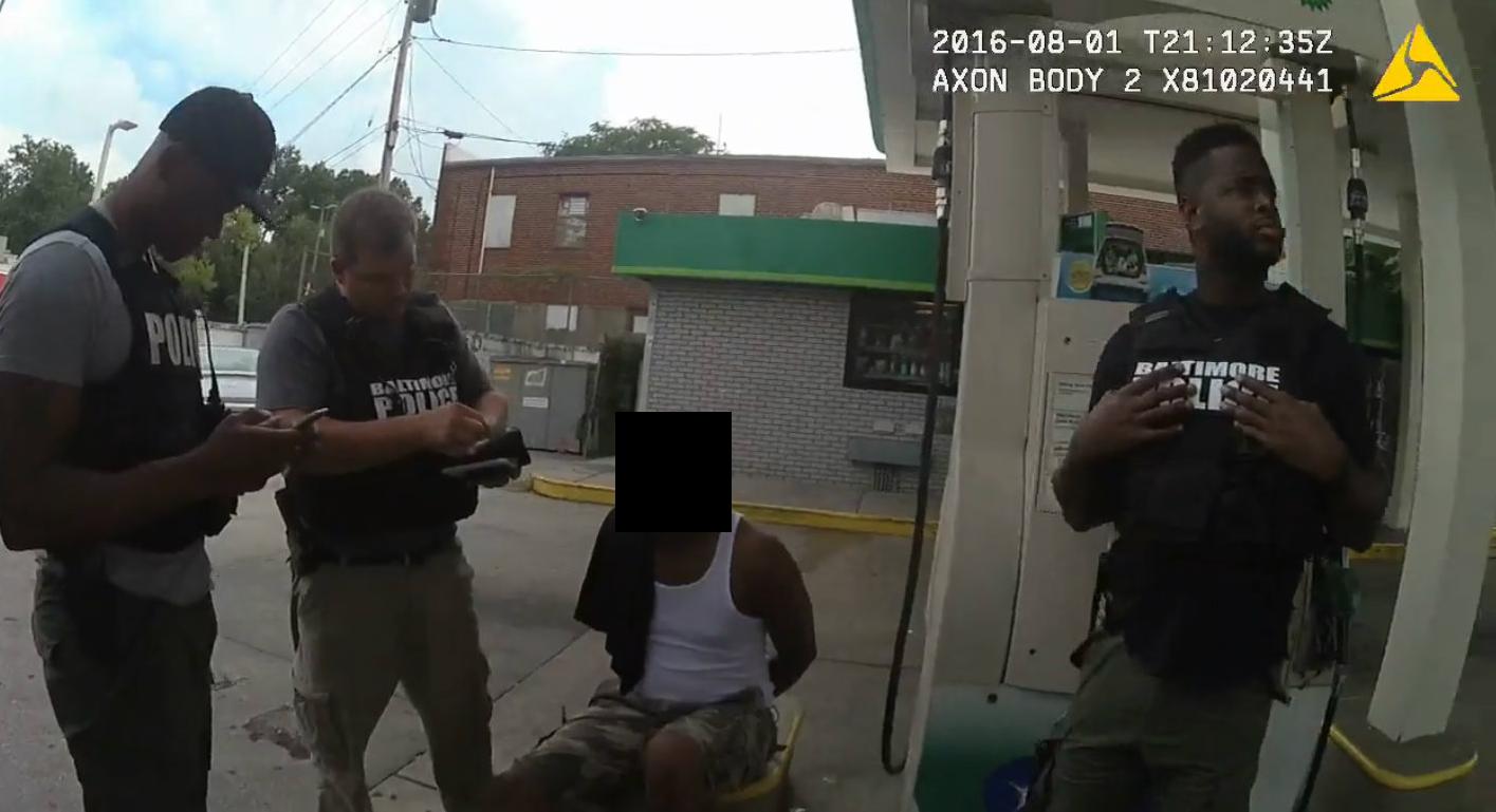 Bodycam footage of a GTTF arrest