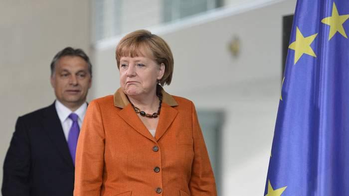 Angela Merkel is said to distrust Orban