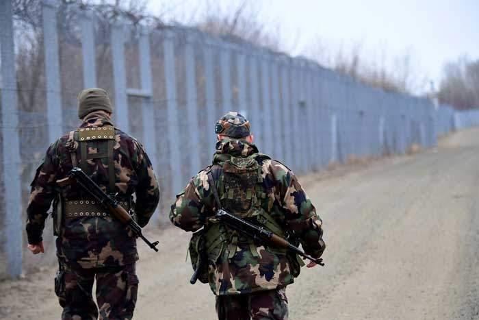 The border near Roszke