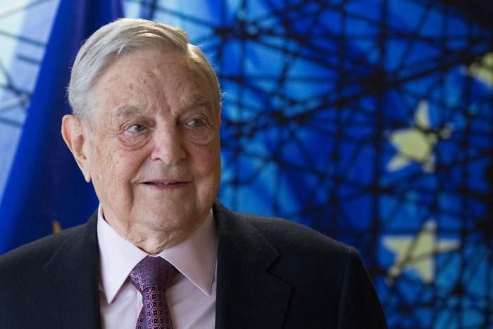 Soros in Brussels, 2017