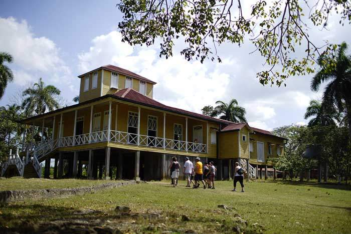 Finca Las Manacas, the Castro family estate