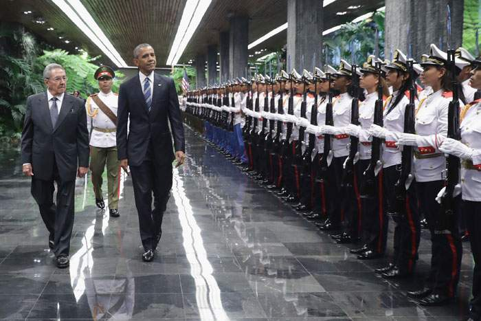 2016: President Obama's visit to Cuba