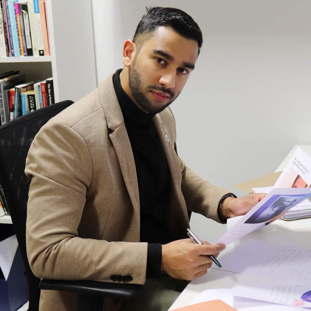 Criminologist Dr Mohammed Rahman