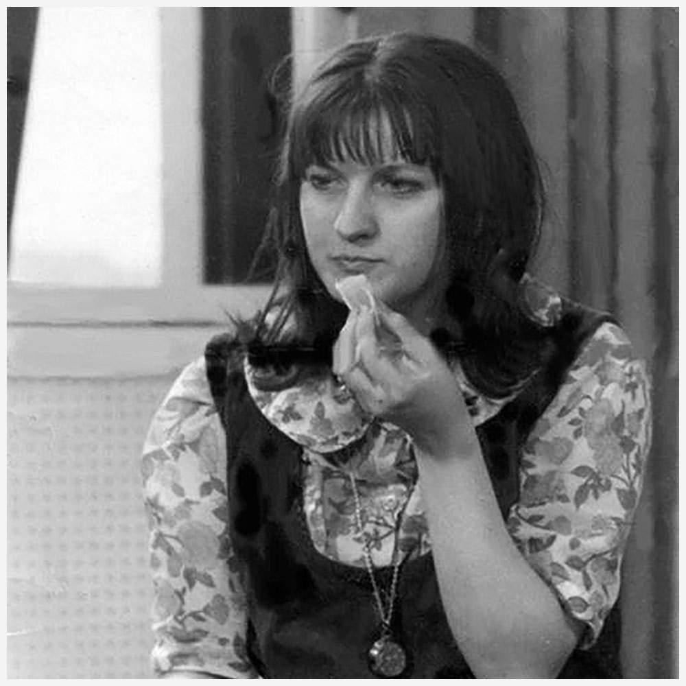 Lynne McCarrick in the 1960s