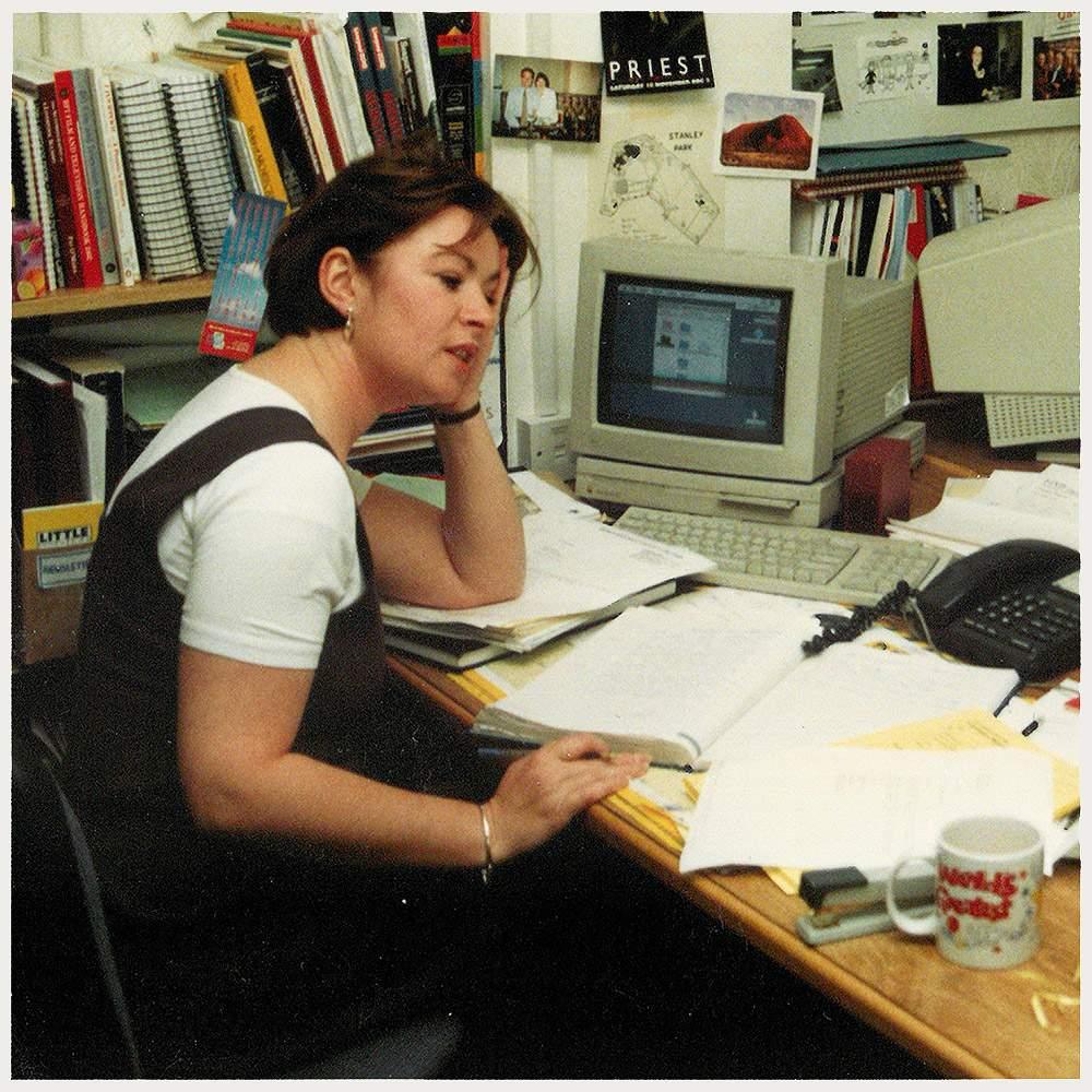 Lynn Saunders circa 1990