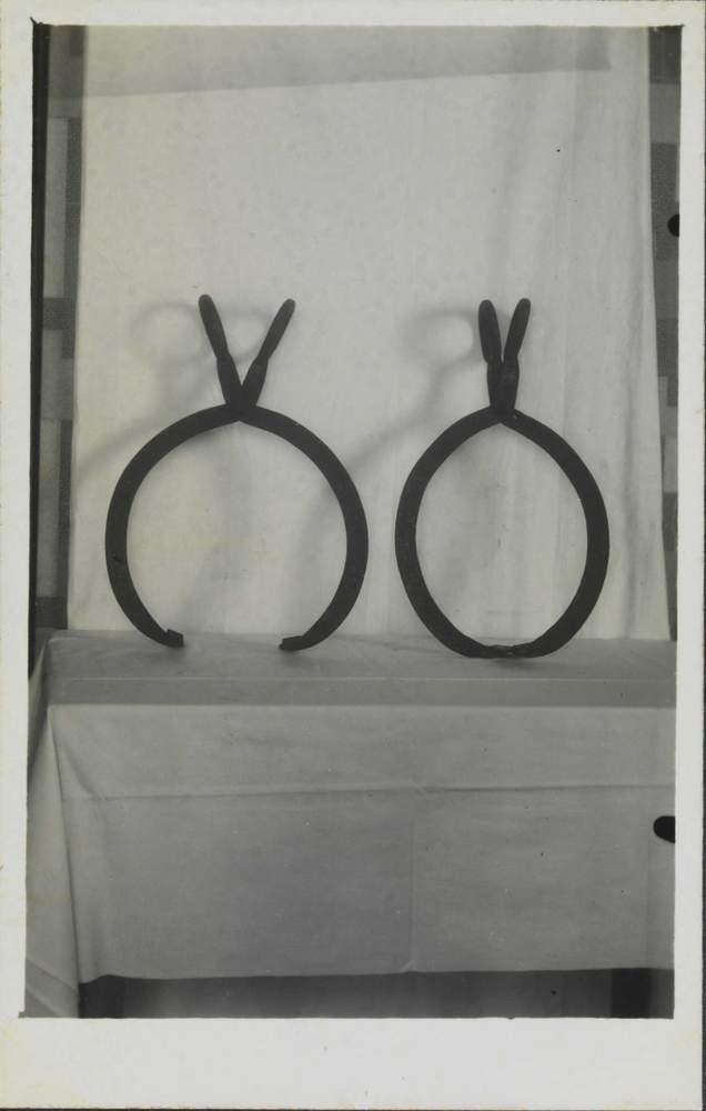 Instrumentos de tortura de escravosBiblioteca Nacional