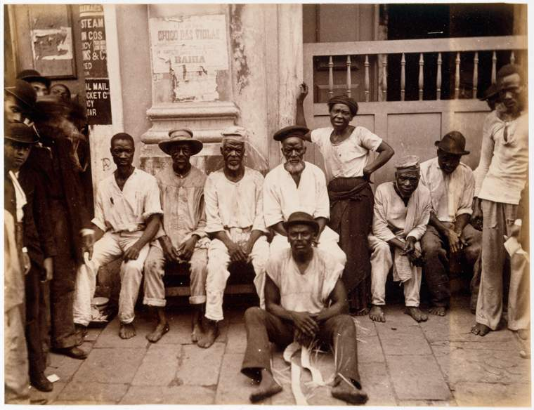 Retrato de carregadores, Bahia, 1900The New York Public Library