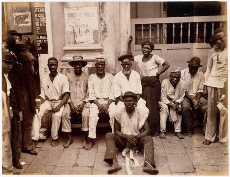Retrato de carregadores, Bahia, 1900The New York Public Library
