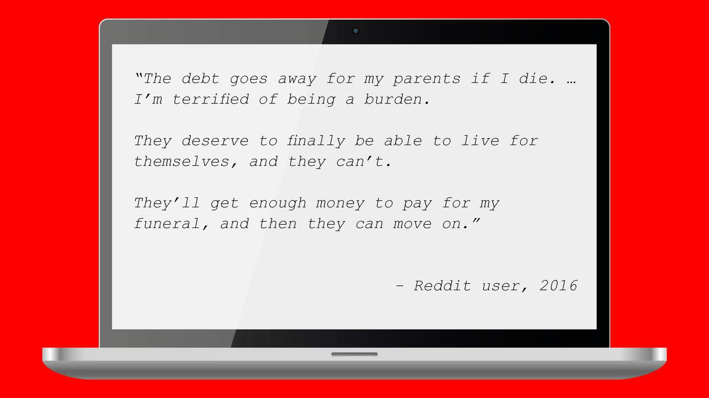 How debt kills - BBC News