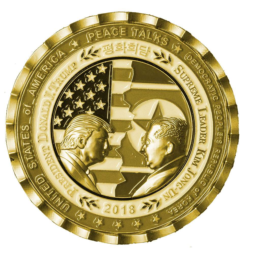Trump-Kim summit commemorative coin