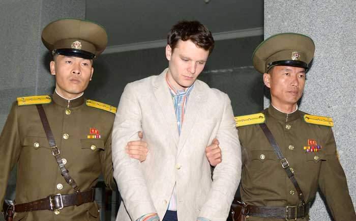 المواطن الأمريكي أوتو وامبير رهن الاعتقال في كوريا الشمالية