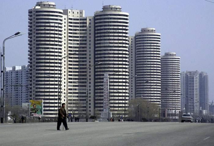العاصمة الكورية الشمالية بيونغيانغ
