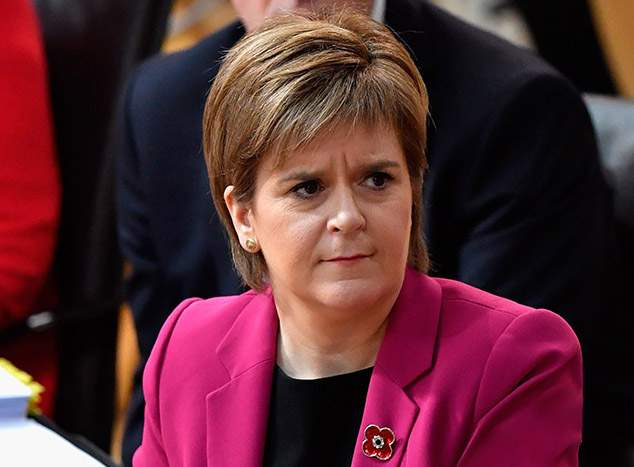 Nicola Sturgeon had not anticipated a Trump victory