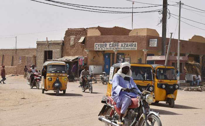 The Nigerien town of Agadez