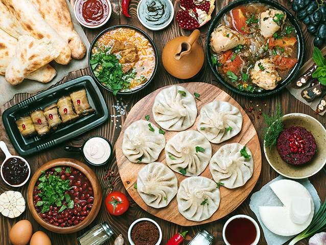 غذاهای گرجستانی