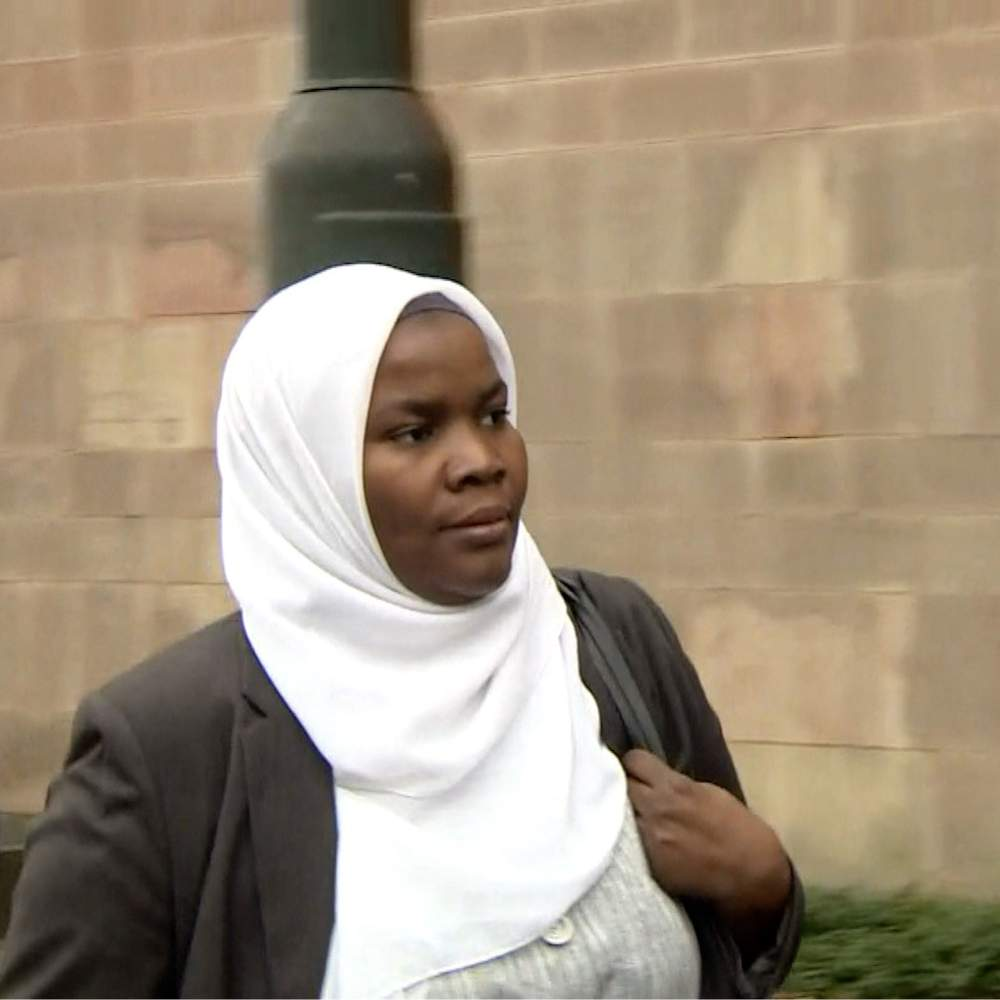 Dr Bawa-Garba on her way to court