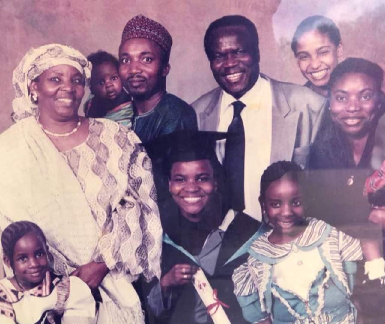 Hadiza Bawa-Garba and family