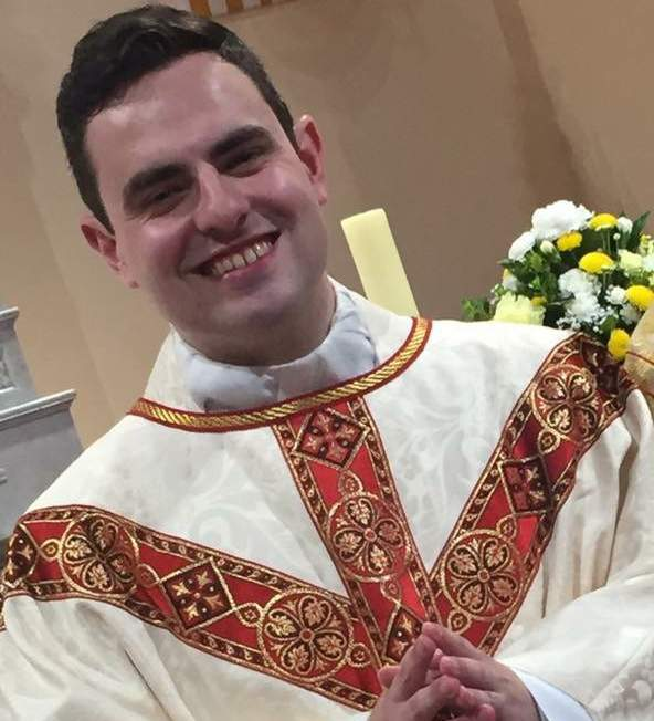 Fr David Vard was ordained in 2017
