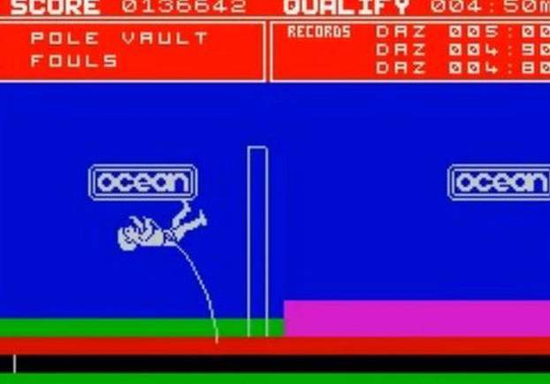 Daley Thompson's Decathlon was one of the most successful Spectrum games