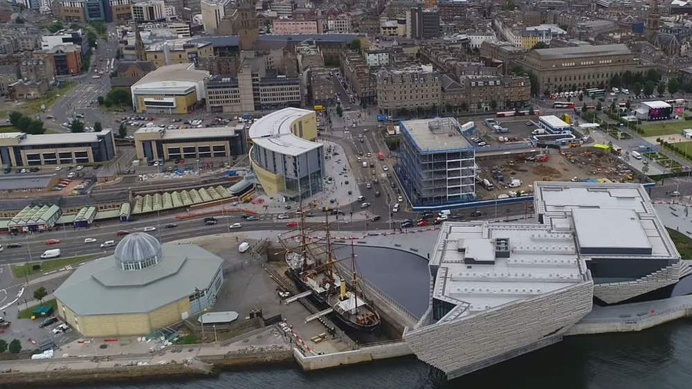 The V&A is part of a huge waterfront development