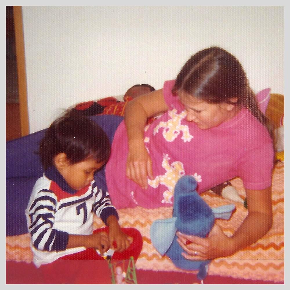 Kristin with Tuy