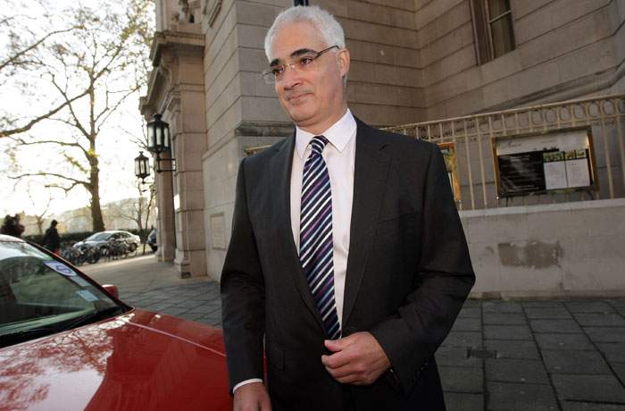 Alastair Darling, former chancellor of the exchequer