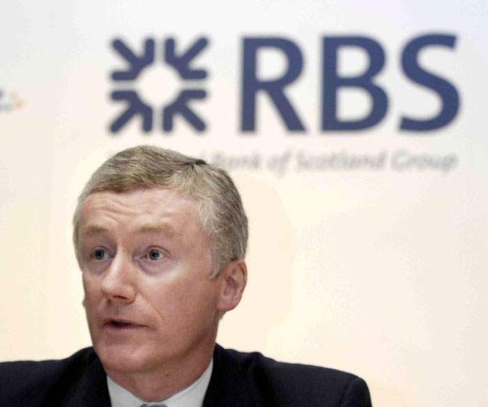 Fred Goodwin, former chief executive of RBS