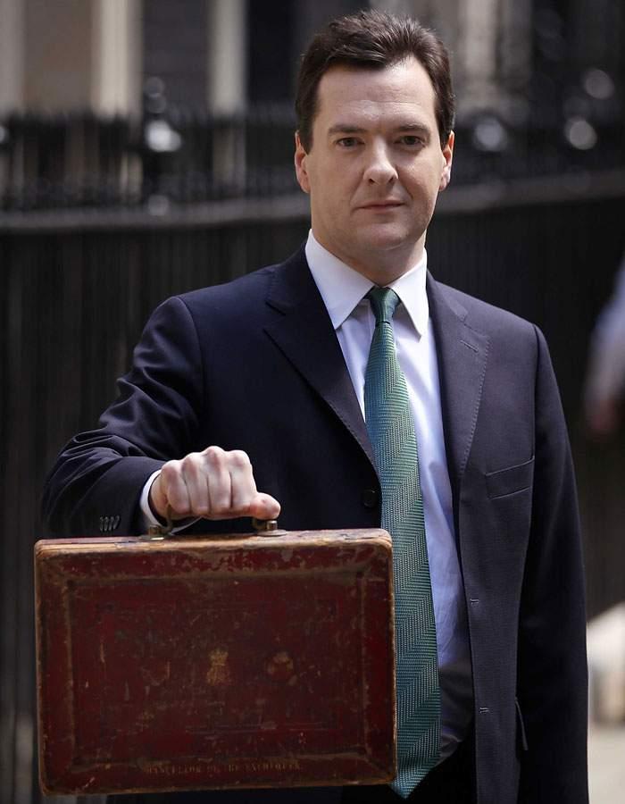 George Osborne ahead of his 2010 emergency budget