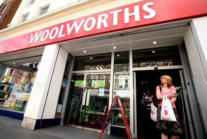 2007: Woolworths in Clapham, south London