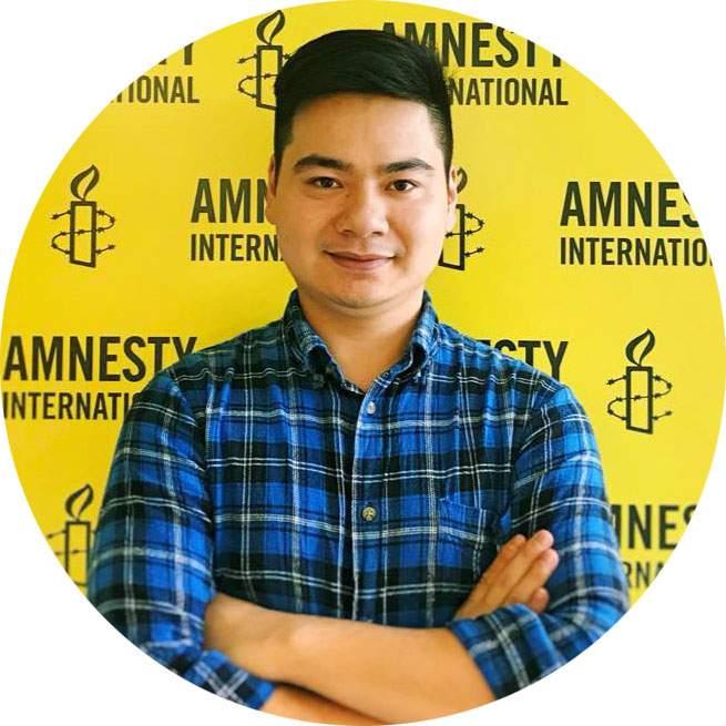 Nguyễn Trường Sơn,  Tổ chức Ân xá Quốc tế khu vực Đông Nam Á và Thái Bình Dương