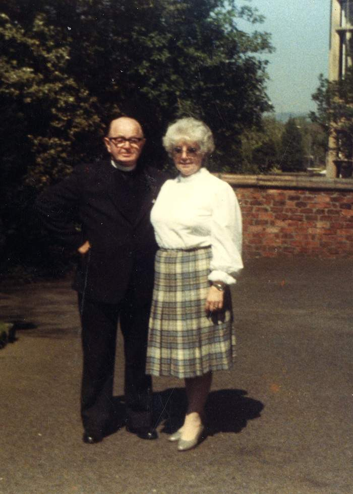 The Rev William Barrie and Mary Barrie