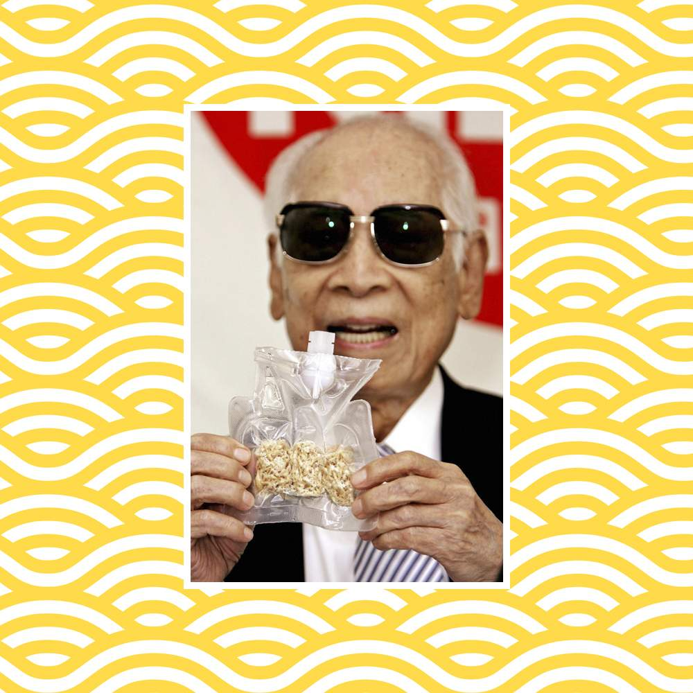 Momofuku Ando and his instant noodles for astronauts
