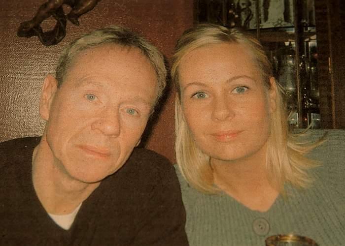 Tryggvi Leifsson with his daughter Kristin