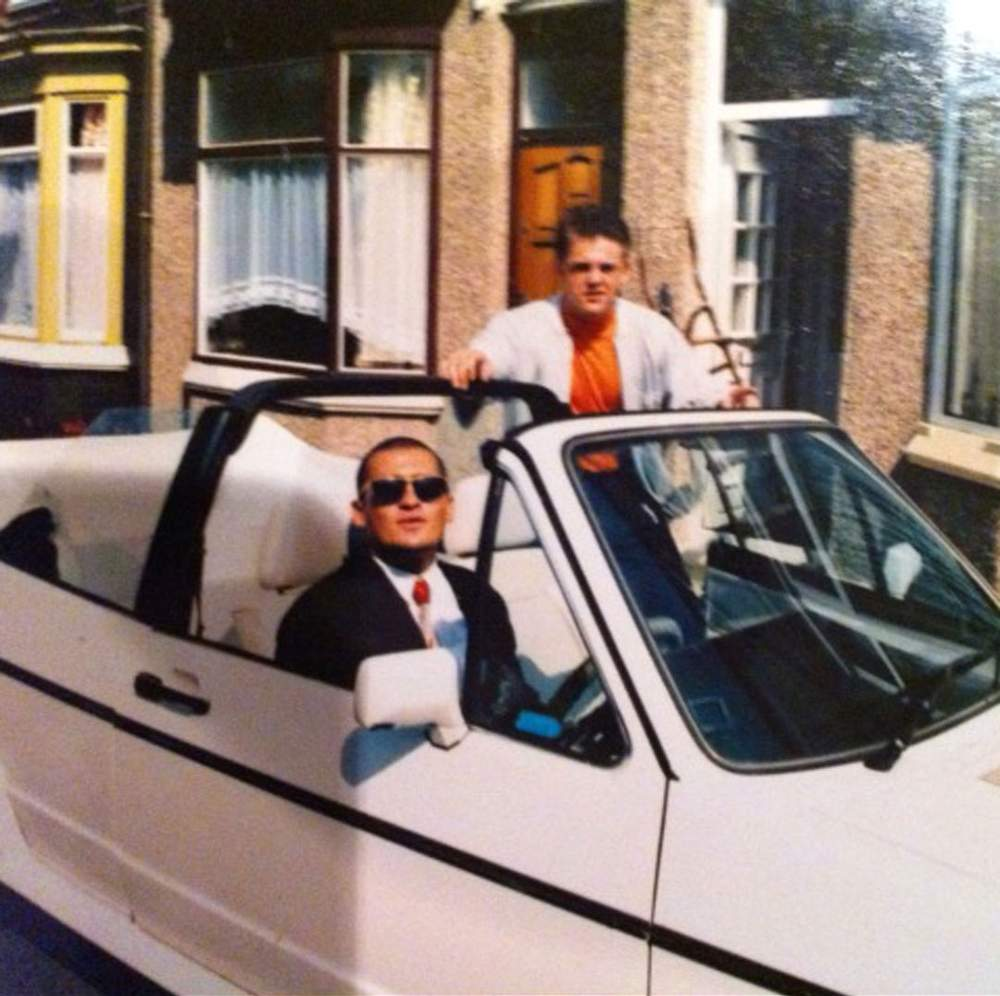 Lee Harrison and friend Lee Duffy, a former boxer, bouncer and gangster who was known as one of the most feared men on Teesside in the 80s