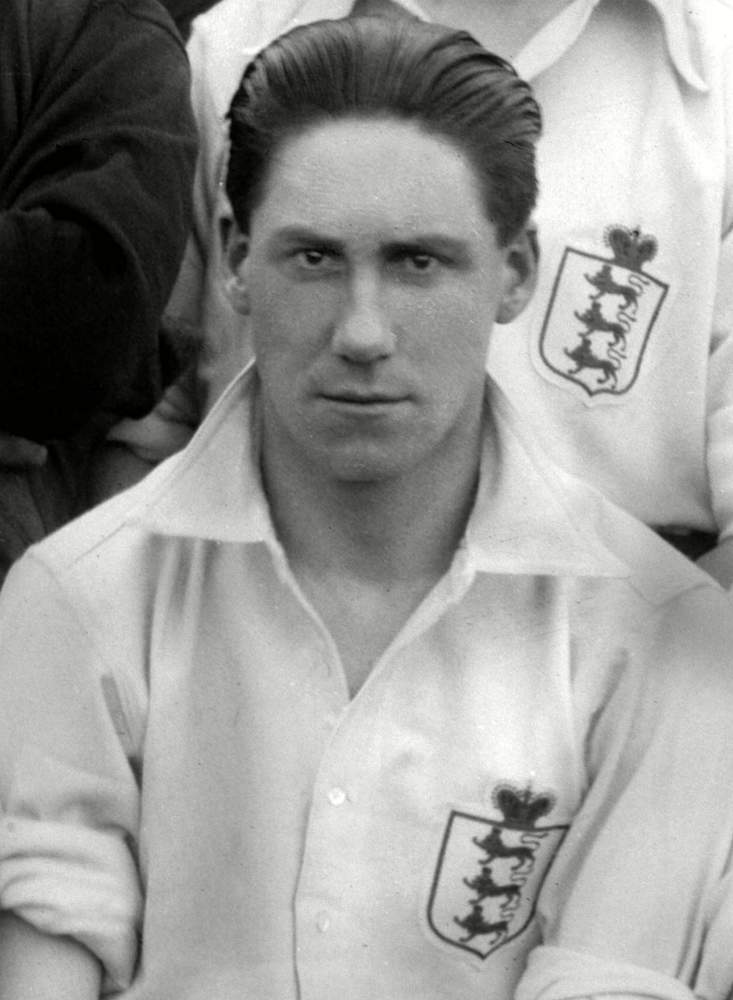 Jimmy made his England debut against Belgium in 1921