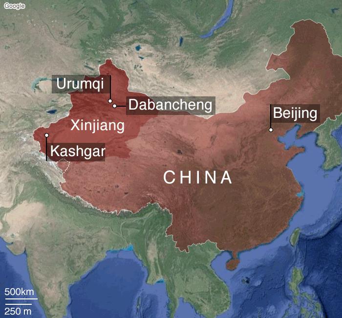 44+ Xinjiang concentration camps map terbaru