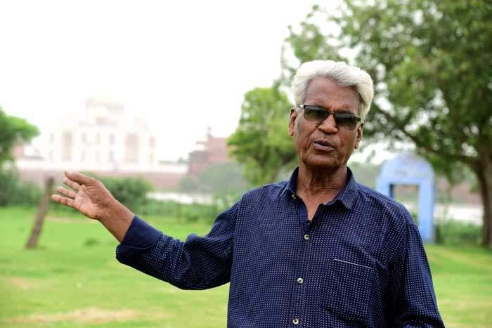 Shamshuddin Khan, Taj Mahal tour guide