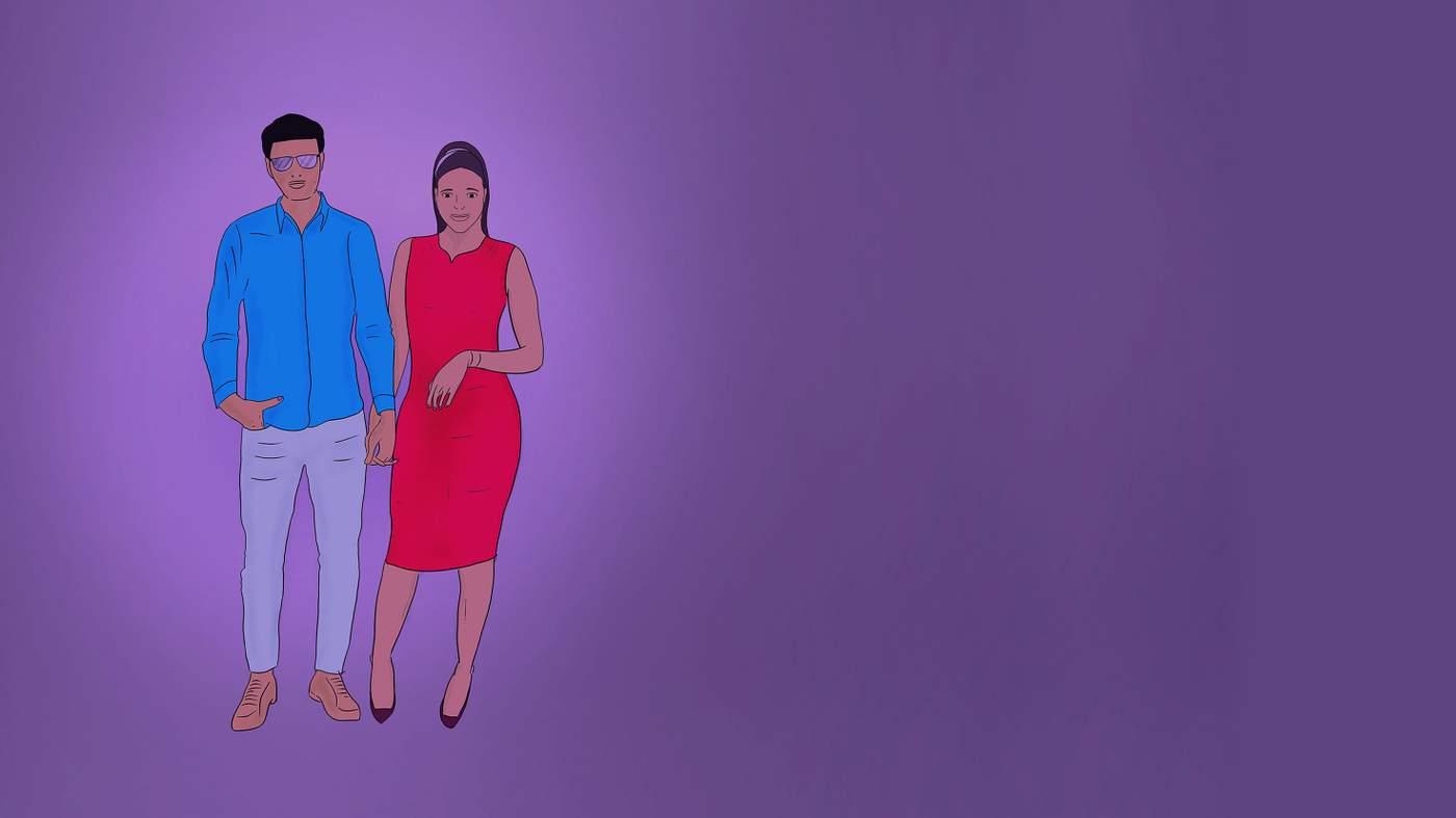 ADRIAN: Bisexual body language