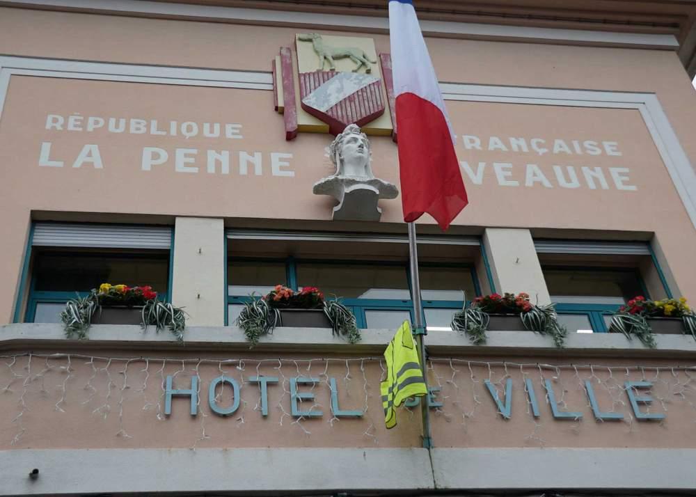 La Penne-sur-Huveaune's town hall