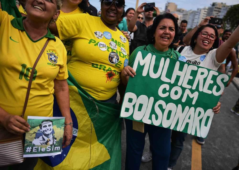 Pro-Bolsonaro Women's March, 2018