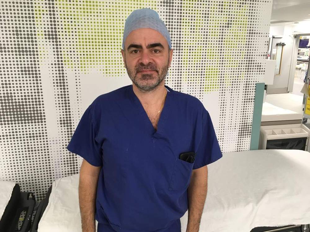Dr De Coppi, a consultant paediatric surgeon at Great Ormond Street Hospital