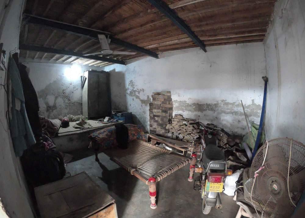 وہ کمرہ جہاں شہزاد اور شمع نے پناہ لی تھی