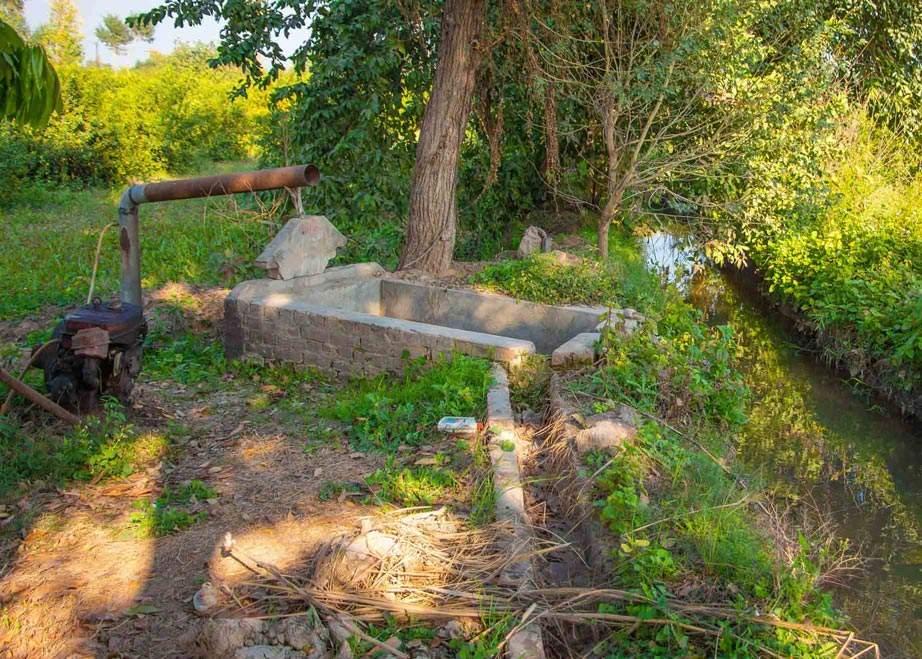 پانی کا وہ پمپ جہاں سے آسیہ نے پانی بھرا تھا