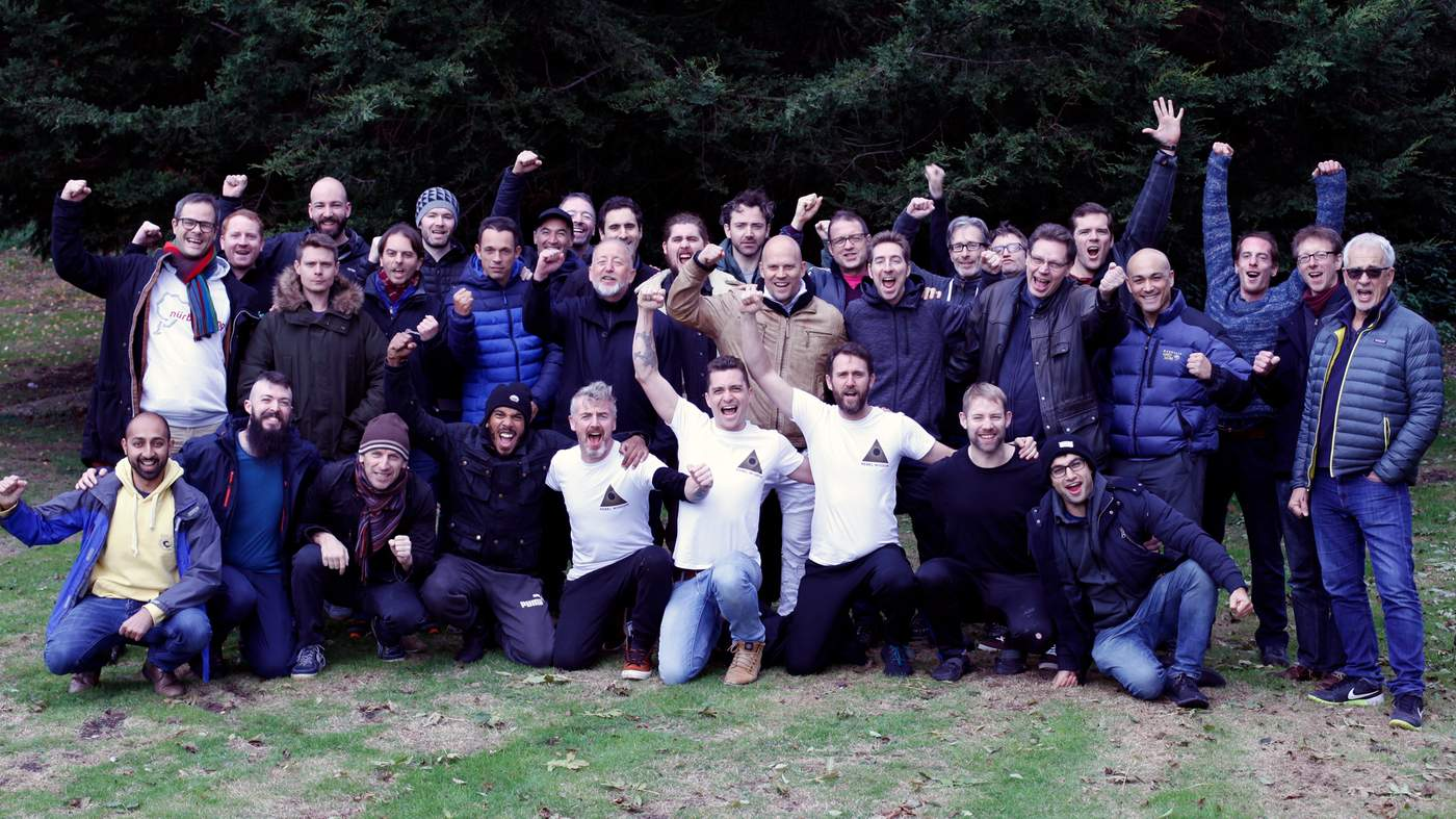 What I learnt on a men-only retreat - BBC News