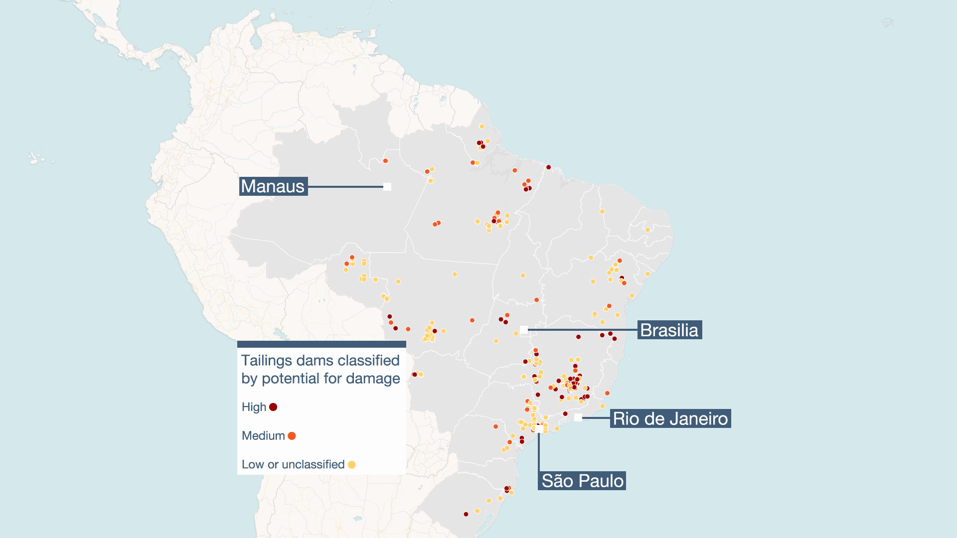 Brazil's dam disaster - BBC News