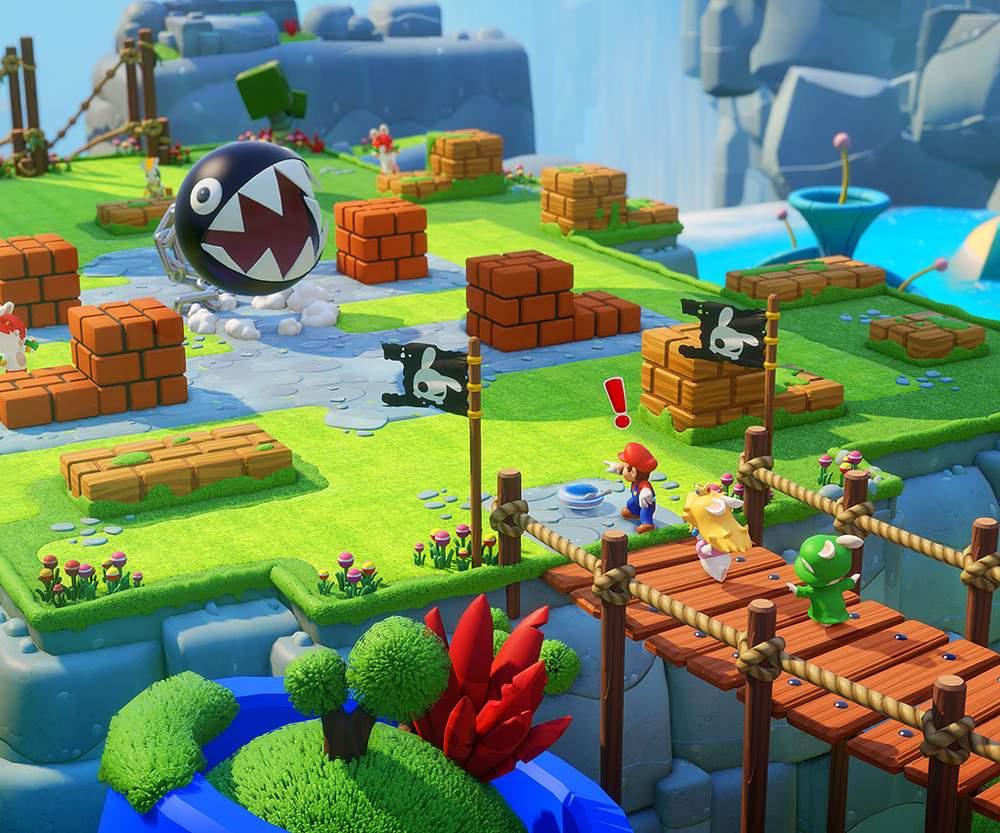 Mario + Rabbids Kingdom Battle(Nintendo)