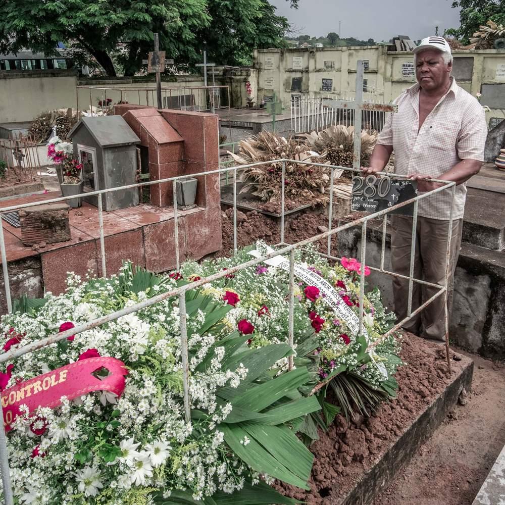 Атенагуос Морейра де Исус узнал о смерти близкого друга только на его похоронах
