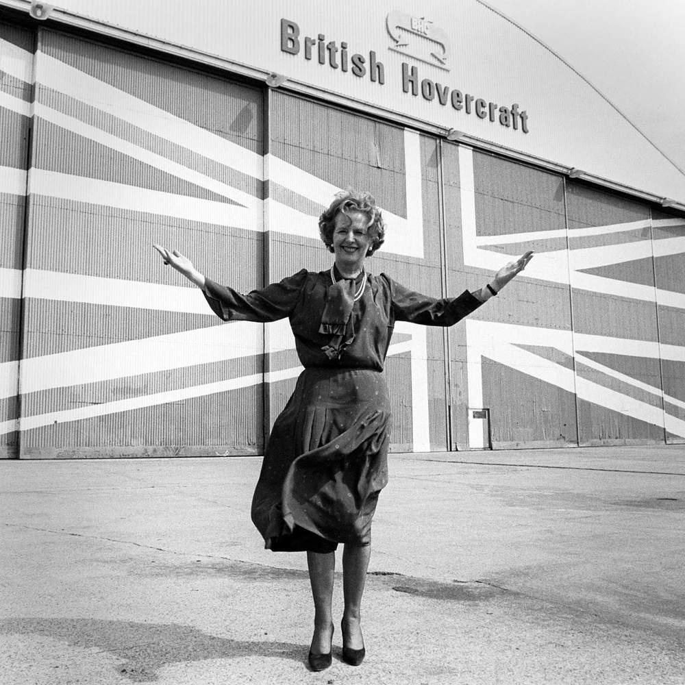 Margaret Thatcher, Isle of Wight, 8 June 1983