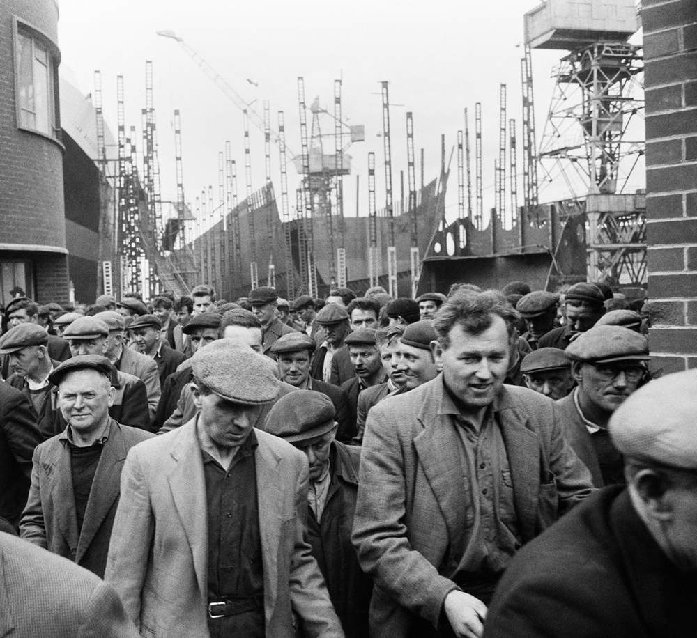 Shipyard at Greenock, circa 1964